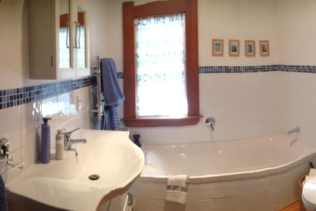 Newly refurbished bathroom (shower out of photo!!).