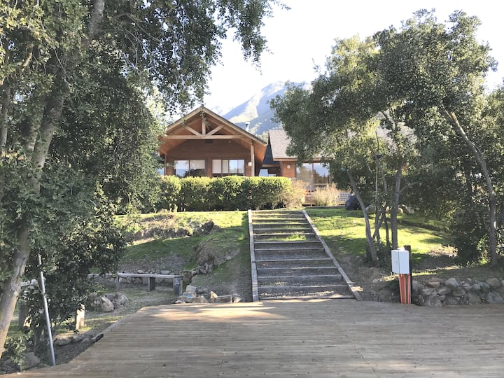 Parcela Laguna Aculeo, piscina, canopy, mascotas
