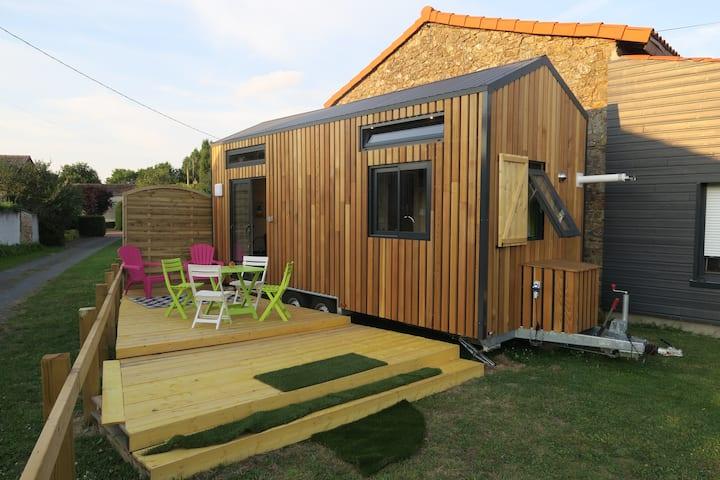 Tiny House 4/6 pers à 30 min du Puy du Fou clim
