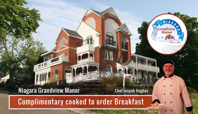 Fraser Room - Gorge View & Complimentary Breakfast - Niagara Falls - Bed & Breakfast