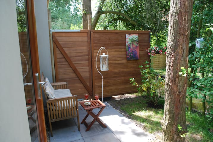 PRIVATE garden STUDIO / Villa free parking - Ámsterdam - Villa