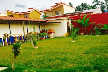 Great house in a gated community near Airport SJO - Río Segundo - House
