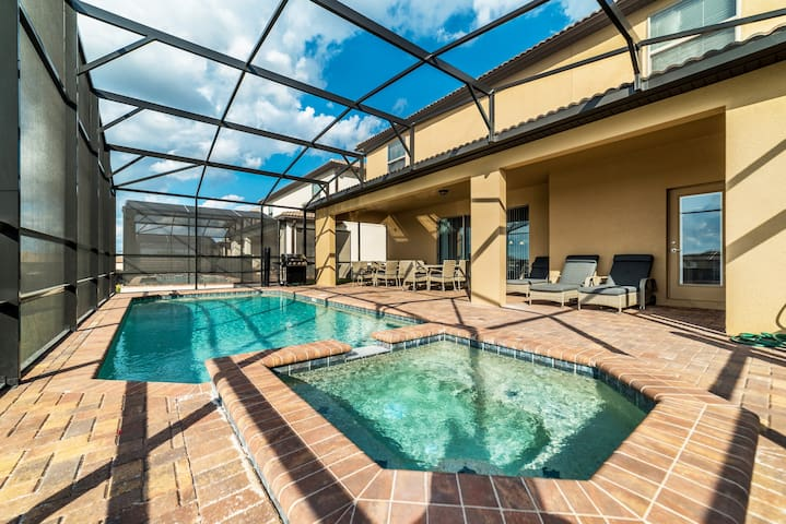 9 BR/6BA brand new home (VHB#1207) - Clermont - Casa