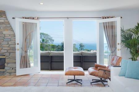 Malibu Beach House Panoramic Views (COVID) PROMO