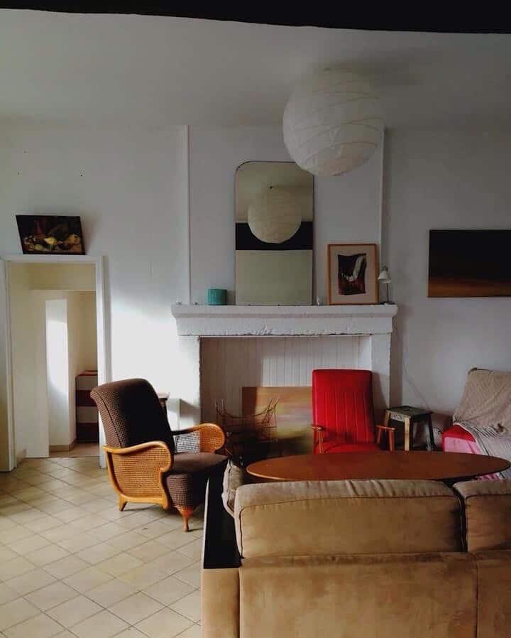 Chambre dans gîte-canal Nivernais-pied du Morvan.