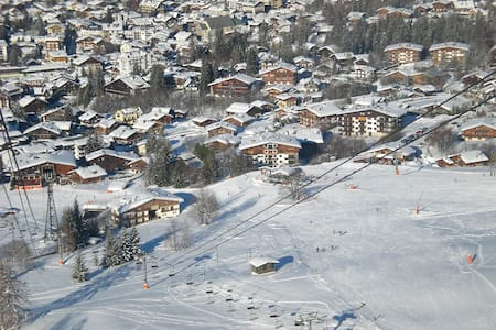 MEGEVE Appartement Gentianes 4 personnes 1 chambre - เมอเชฟ - อพาร์ทเมนท์