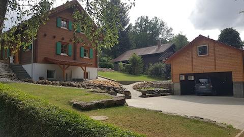 Blockhaus Steinwoll