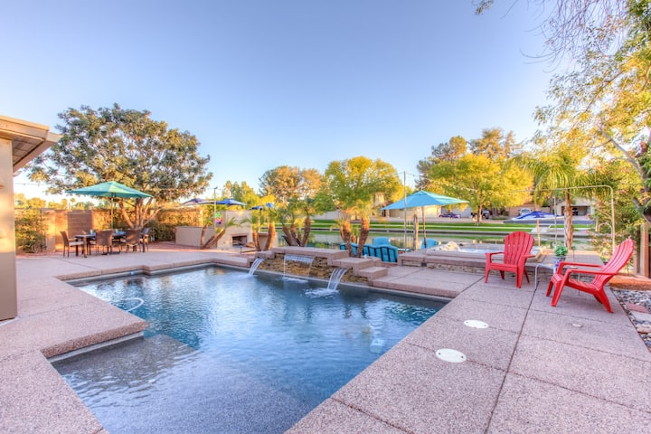 Mesa Lake Front House With Pool and Hot Tub!