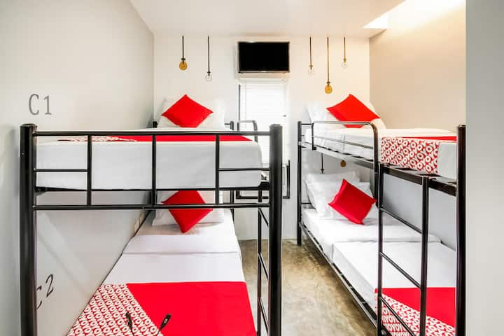 Standard Bunk 4 Bed In The Pocket Hotel