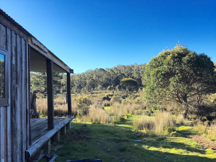 Newly restored Cradle Mountain house on 100 acres