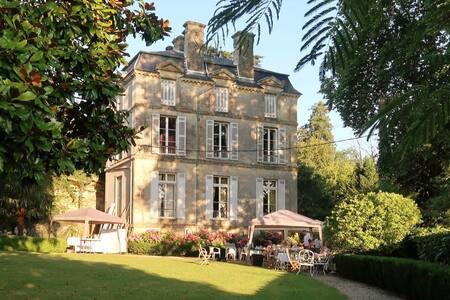 Château Bordeaux B&B belle suite Vallier