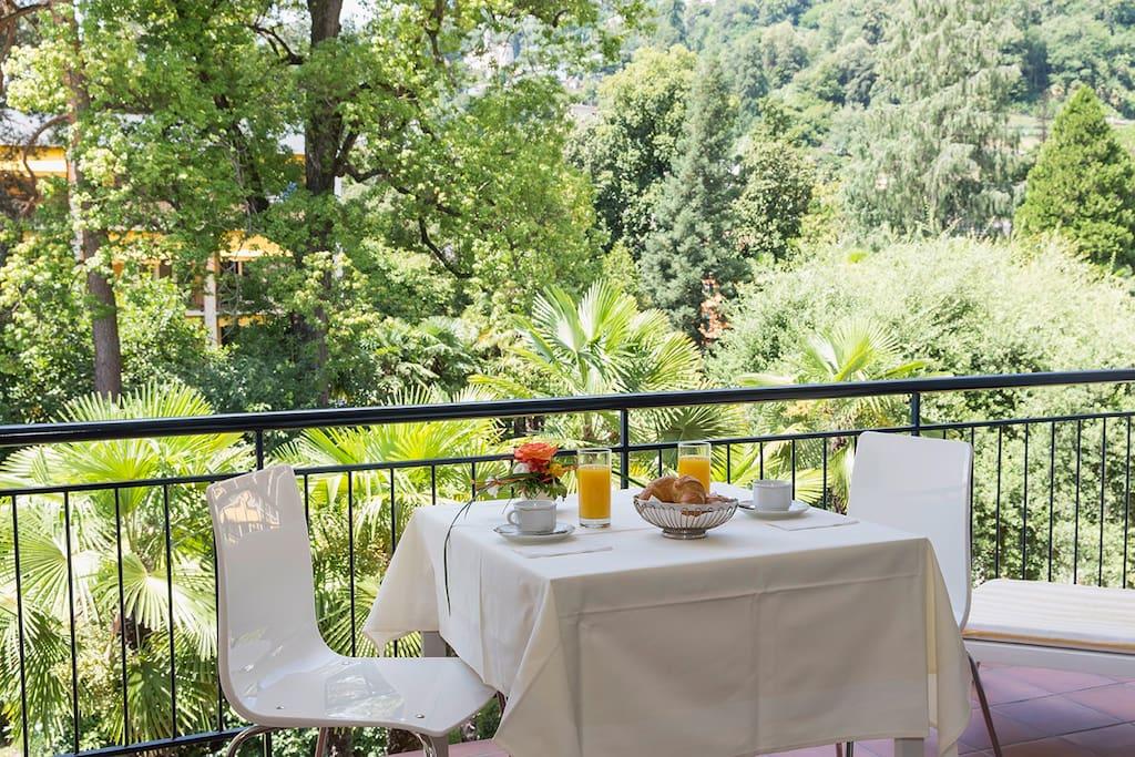 Frühstück auf der Terrasse?