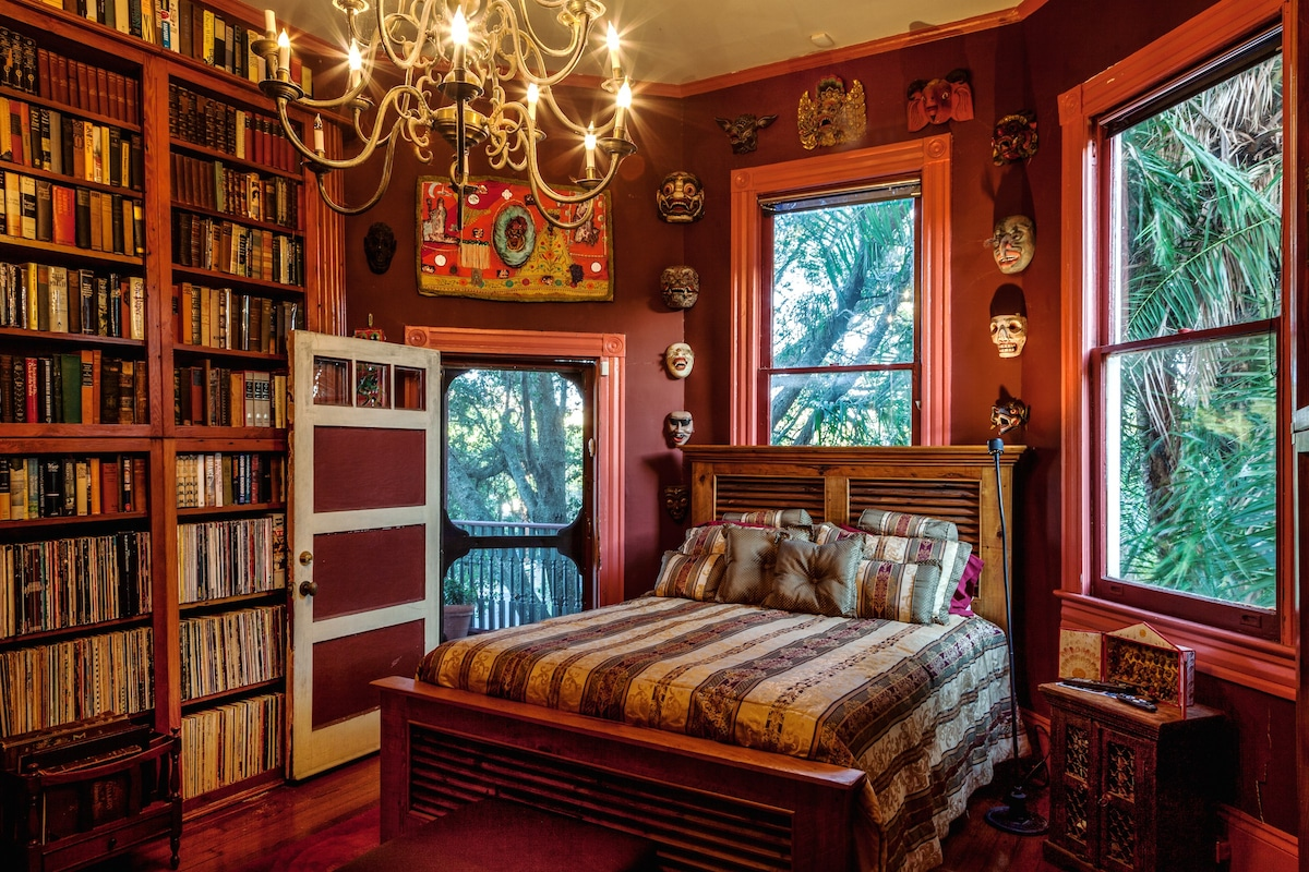 LIBRARY BEDROOM 2nd Floor View #2 ...