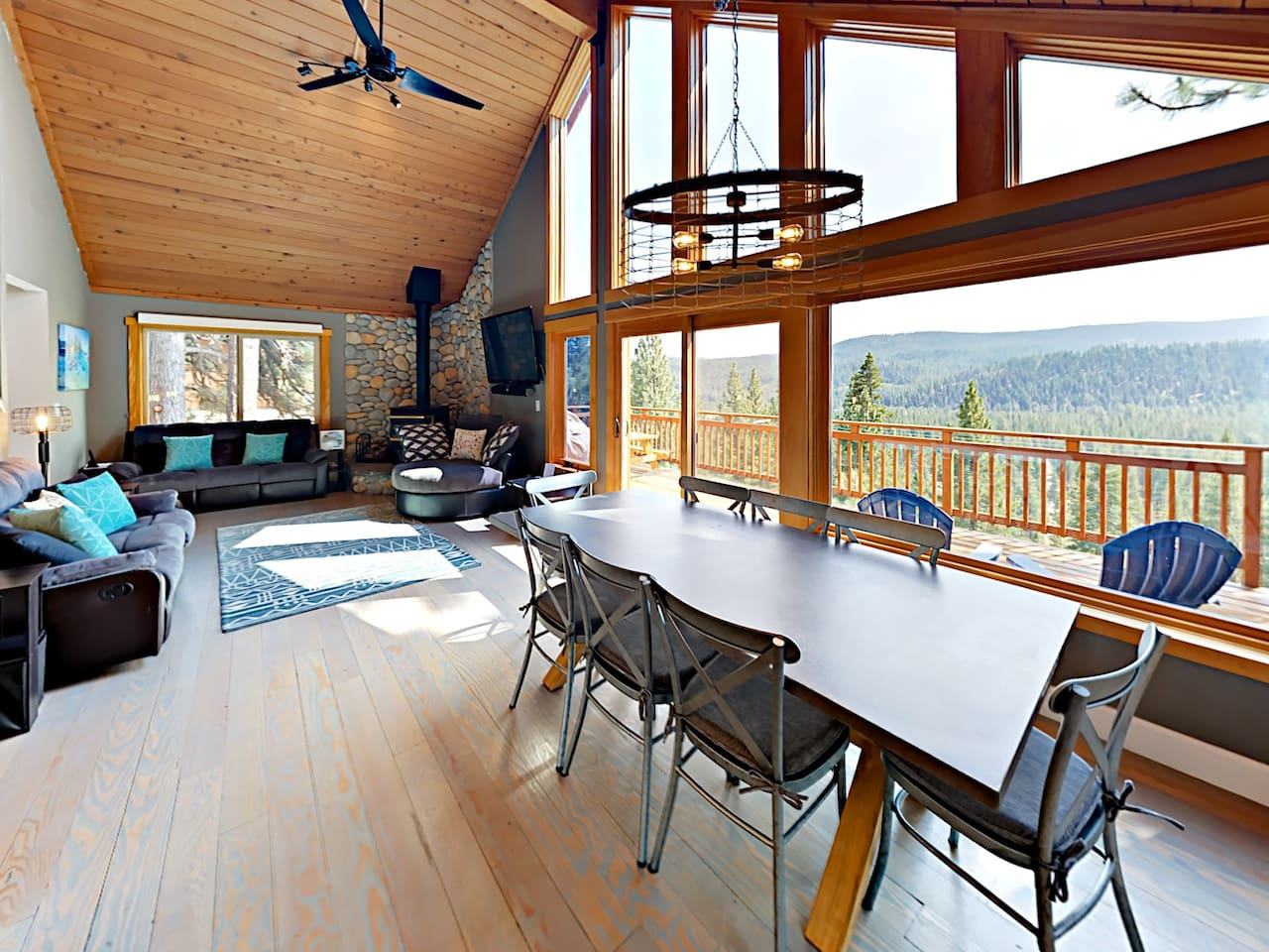 Welcome to Truckee! This stunning chalet is professionally managed by TurnKey Vacation Rentals.