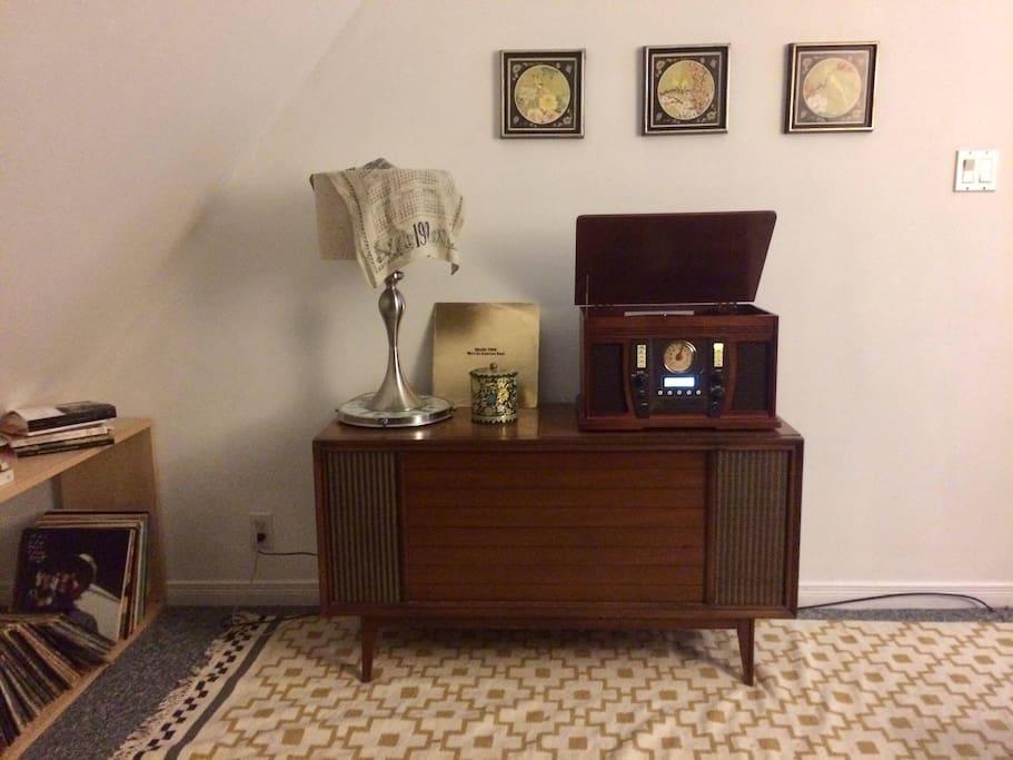 Stereo & Record Player