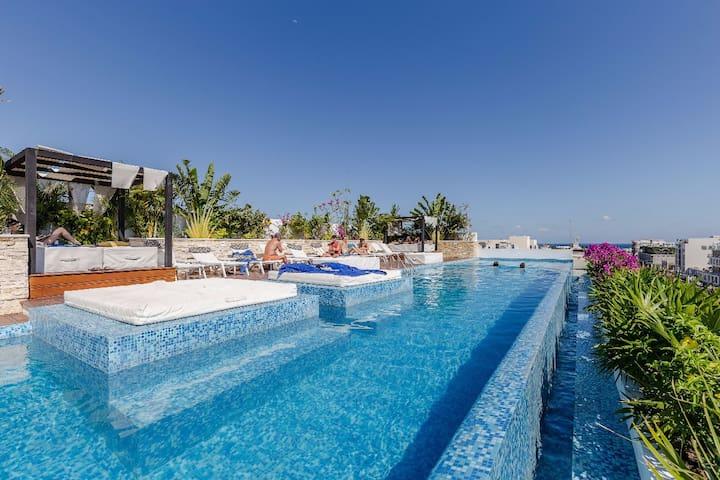 Moderno Estudio Centro de Playa, by OctopusTravel