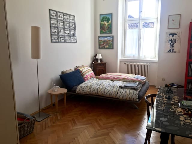 BOLZANO - Well-lit, spacious room in town's center - Bolzano - Appartement