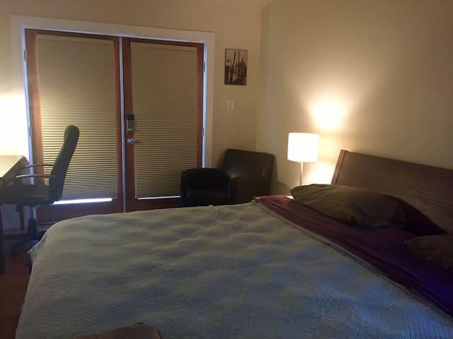Private Entrance King Size Suite