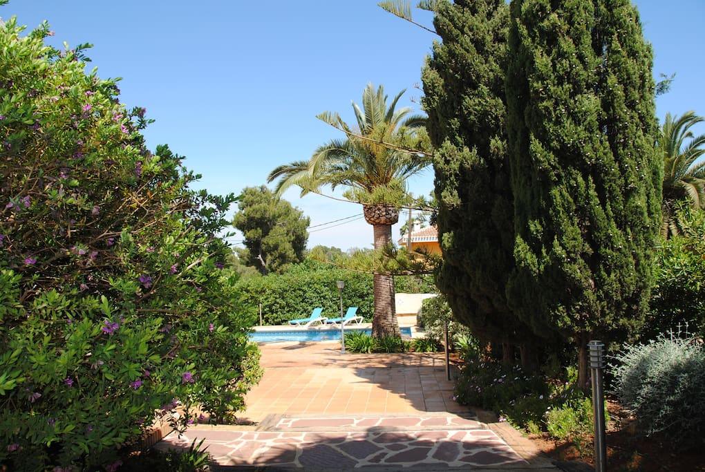 Chalet con piscina y wifi en zona exclusiva chalets en for Camping con piscina climatizada en comunidad valenciana