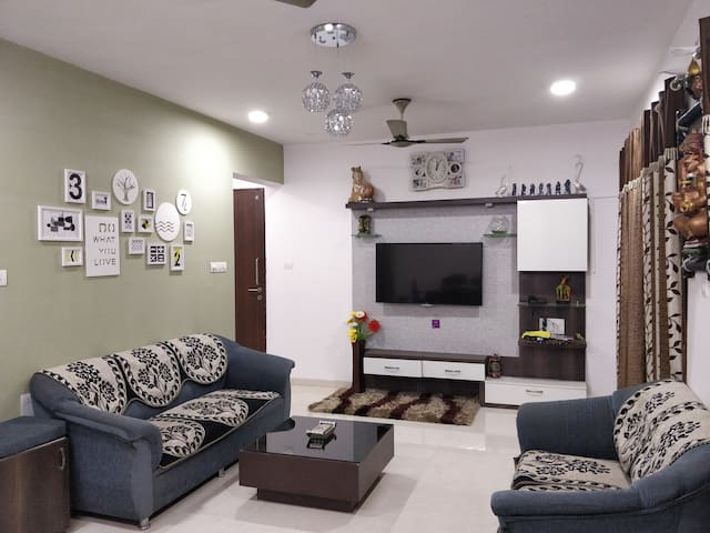2BHK Hillview Apartment near Pune Airport & IT hub
