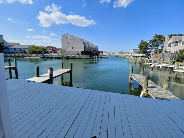 Bayside waterfront 1st floor condo on 28th street