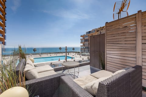 Seaview penthouse in Los Boliches