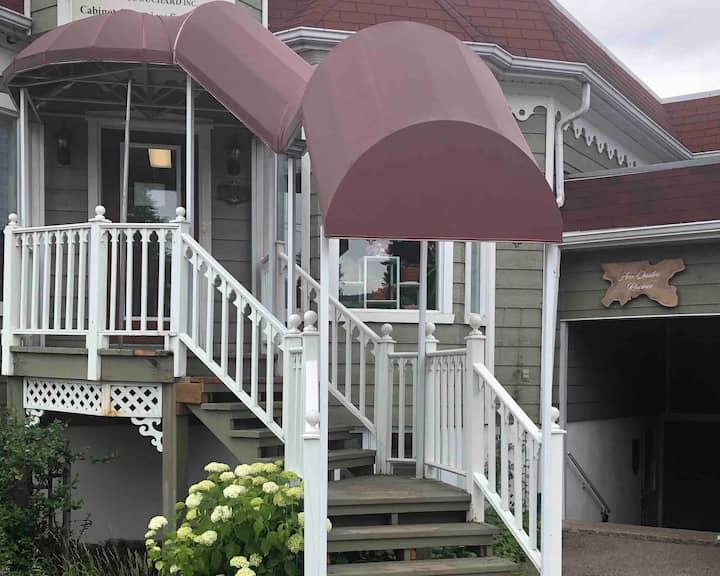 Luxueux appartement au cœur de Baie-St-Paul