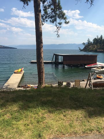 Cabin on Flathead Lake - Polson - Srub