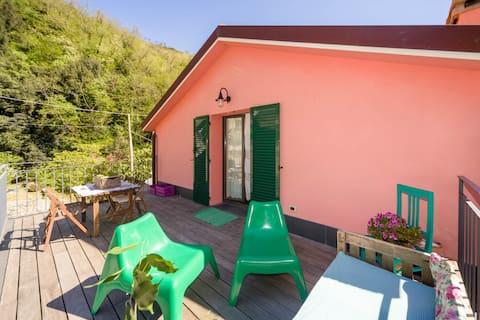 Villa Giuanne, families, Arenzano