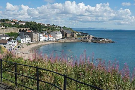 Dbl Room with Stunning Views Across to Edinburgh - Kinghorn - อพาร์ทเมนท์