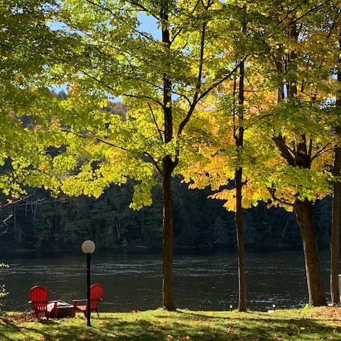 Peaceful Adirondack Waterfront