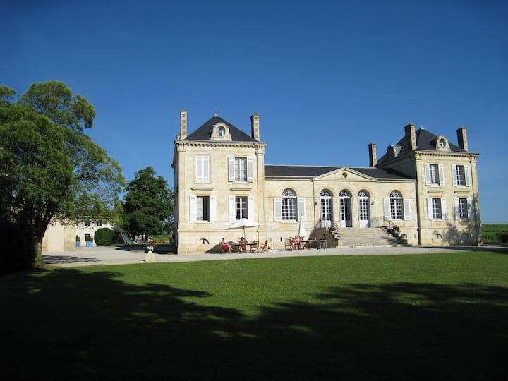 La vie de Château dans le bordelais