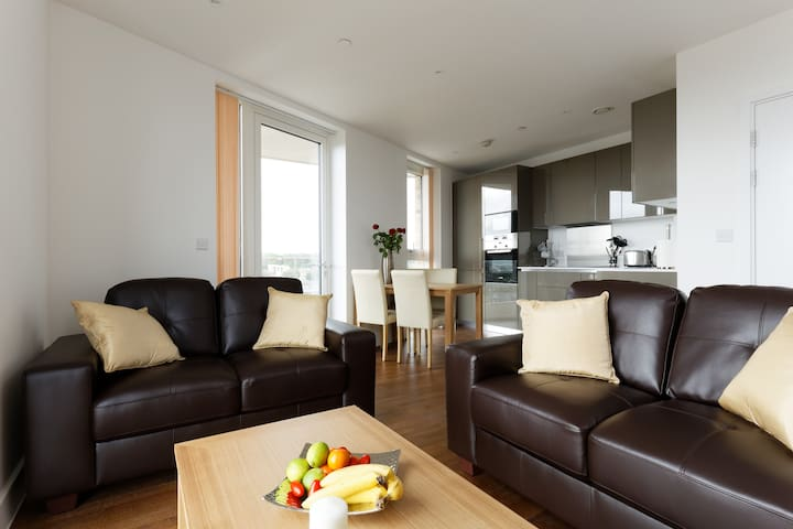 ❤️Executive Luxury Flat:ExCel,O2,LondonCityAirport