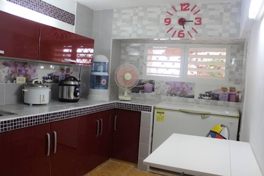 Cocina para el servicio de habitaciones