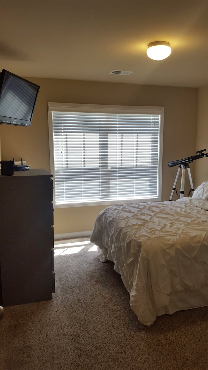 Private Bedroom in a great location!