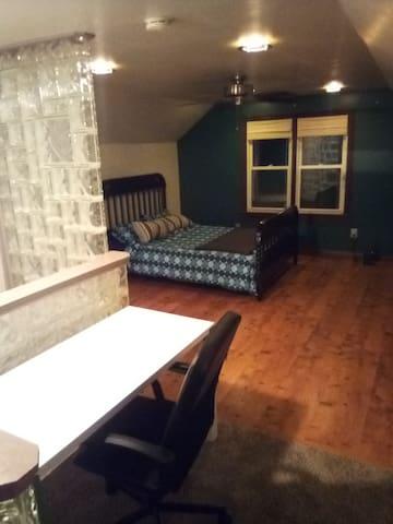 Master Bedroom at Guest House in Melvindale.