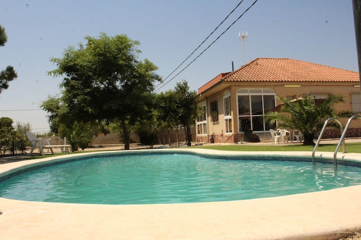 Casa Brasil (casa y piscina exclusivo huespedes)