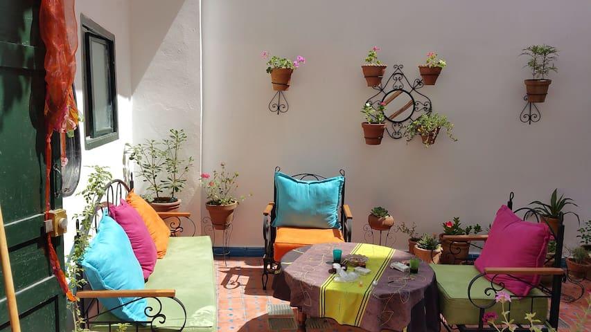 Maison de ville proche des remparts - Essaouira - Talo