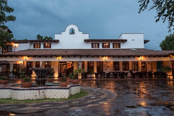 """Mexican Resort Hacienda La Moreda """"Room Ceiba"""""""