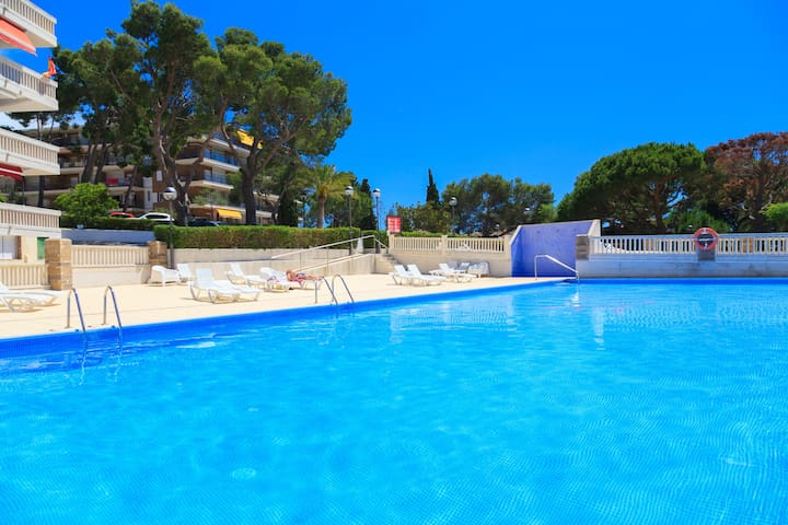 APARTMENT WITH TERRACE SEA  VIEW LOCATED IN QUIET LOCATION NEXT TO A BEAUTIFUL COVE OF SALOU  S206-140 CYE 6