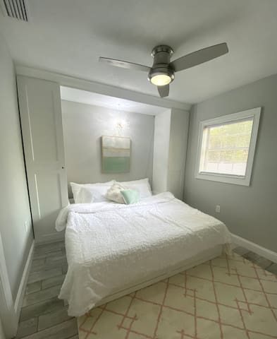Second Bedroom has a daybed that can either be an XL twin or a king depending on your needs