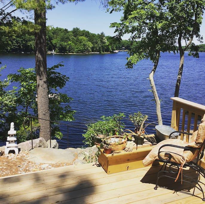 Lake front views