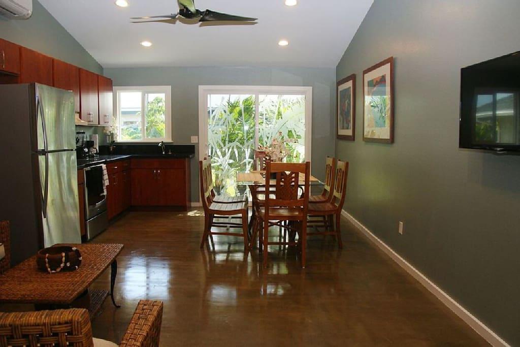 4 bedroom kitchen & dinning room