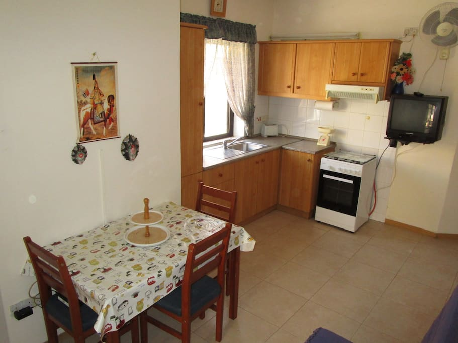 Kitchen / Dining for 4 persons