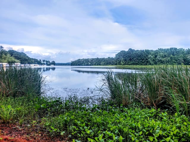 Lake views that will take your breath away