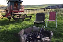 Free wood for fire pit