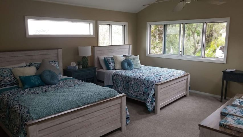 Huge Master Suite w/ Private Entrance