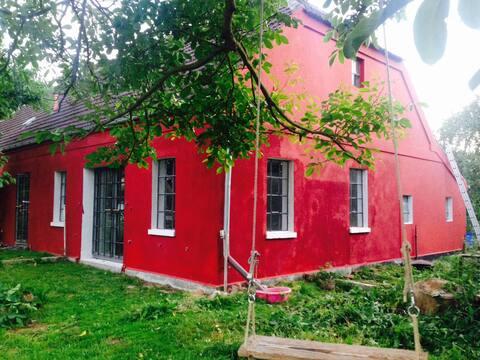 Landhaus mit Atelier (MalrausHaus), Mecklenburg