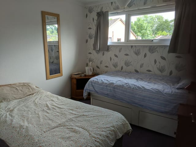 Room 2, Bury St Edmunds affordable and welcoming