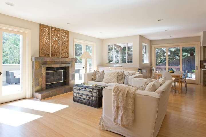 Beautiful Spacious Sanctuary in Silicon Valley - Emerald Hills - Rumah
